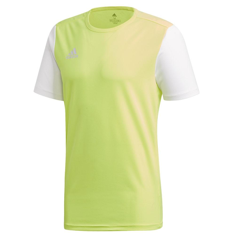 Adidas Estro 19 Shirt Geel-Wit Maat 2XL