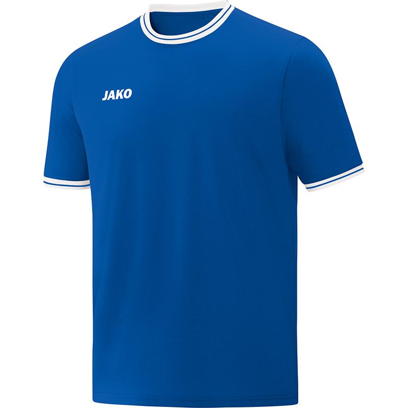 Jako Shooting Shirt Center 2.0 Royal Blauw-Wit Maat XXS