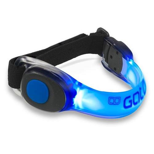 Neon LED Armband Blauw