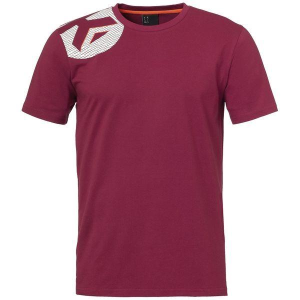Kempa Core 2.0 T-Shirt Kind Diep Rood Maat 140
