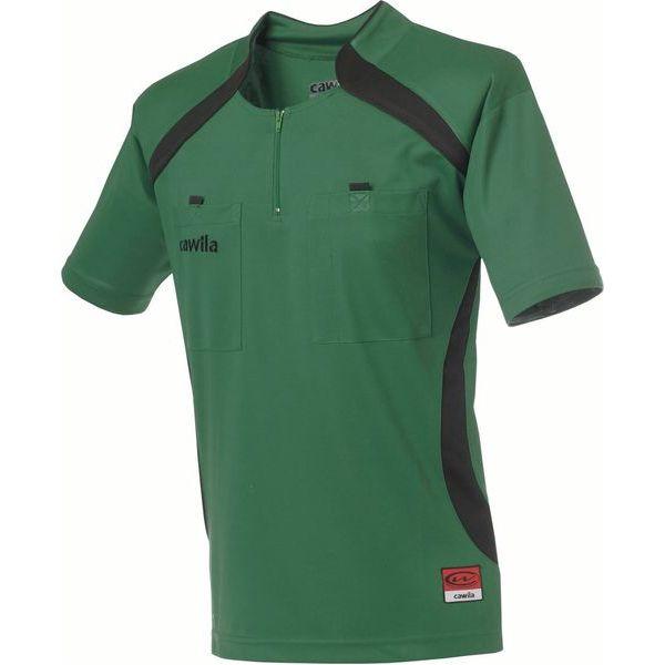 Cawila Scheidsrechter Shirt Pro Groen-Zwart Maat S