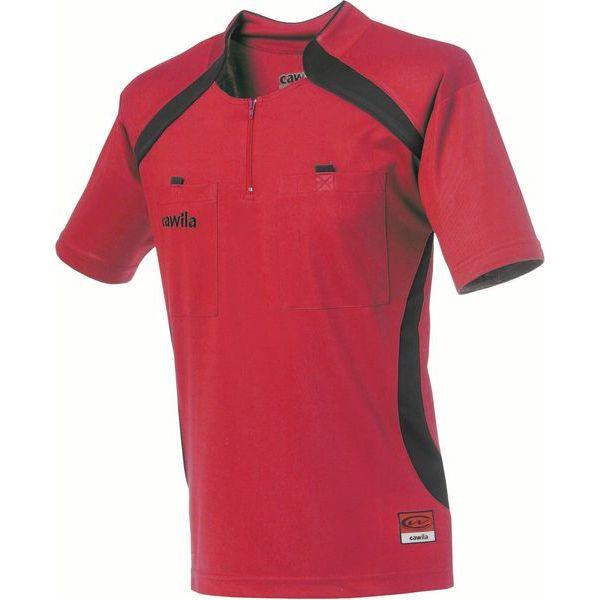 Cawila Scheidsrechter Shirt Pro Rood-Zwart Maat M