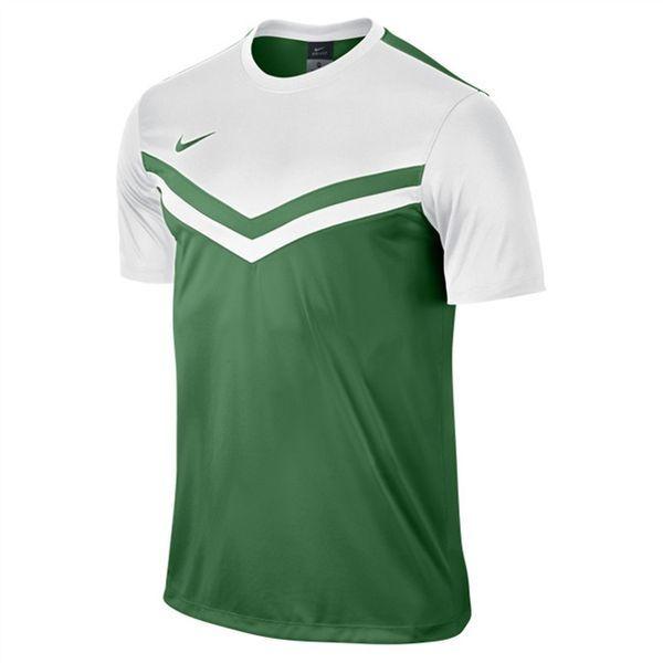 Nike Victory II Shirt Pine Groen-Wit Maat M