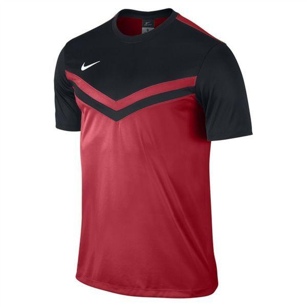 Nike Victory II Shirt University Rood-Zwart Maat XL