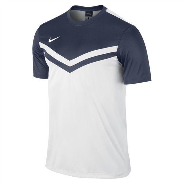Nike Victory II Shirt Wit-Midnight Navy Maat XL