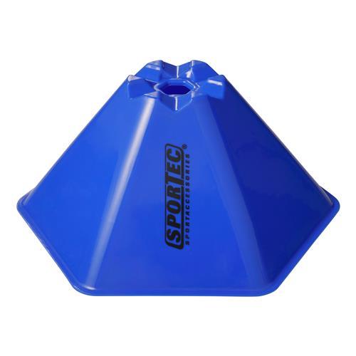 Afbakenbollen Hexagonaal Groot Set 10 Stuks Royal Blauw