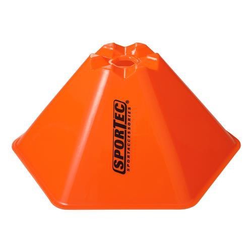 Afbakenbollen Hexagonaal Groot Set 10 Stuks Oranje