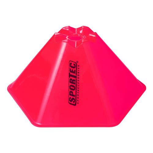 Afbakenbollen Hexagonaal Groot Set 10 Stuks Pink