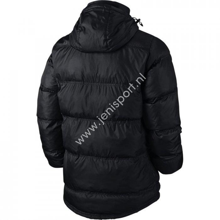 722e7c1617 ... Obsidian 645484 451 Nike Generics Team Winter Jacket Zwart Achterzijde