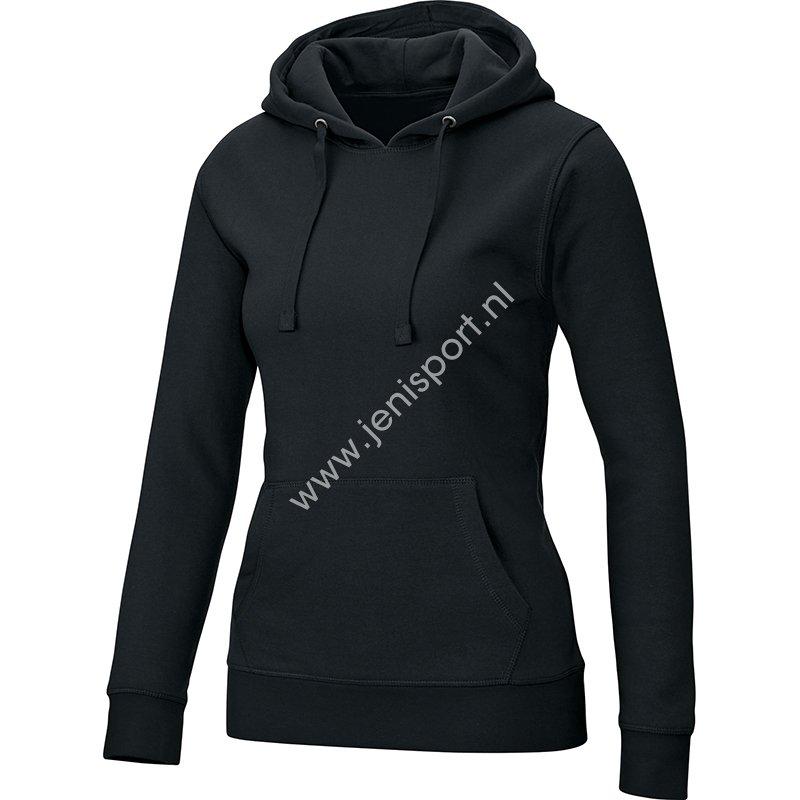 Jako Sweater met Capuchon Dames Zwart D6733 08