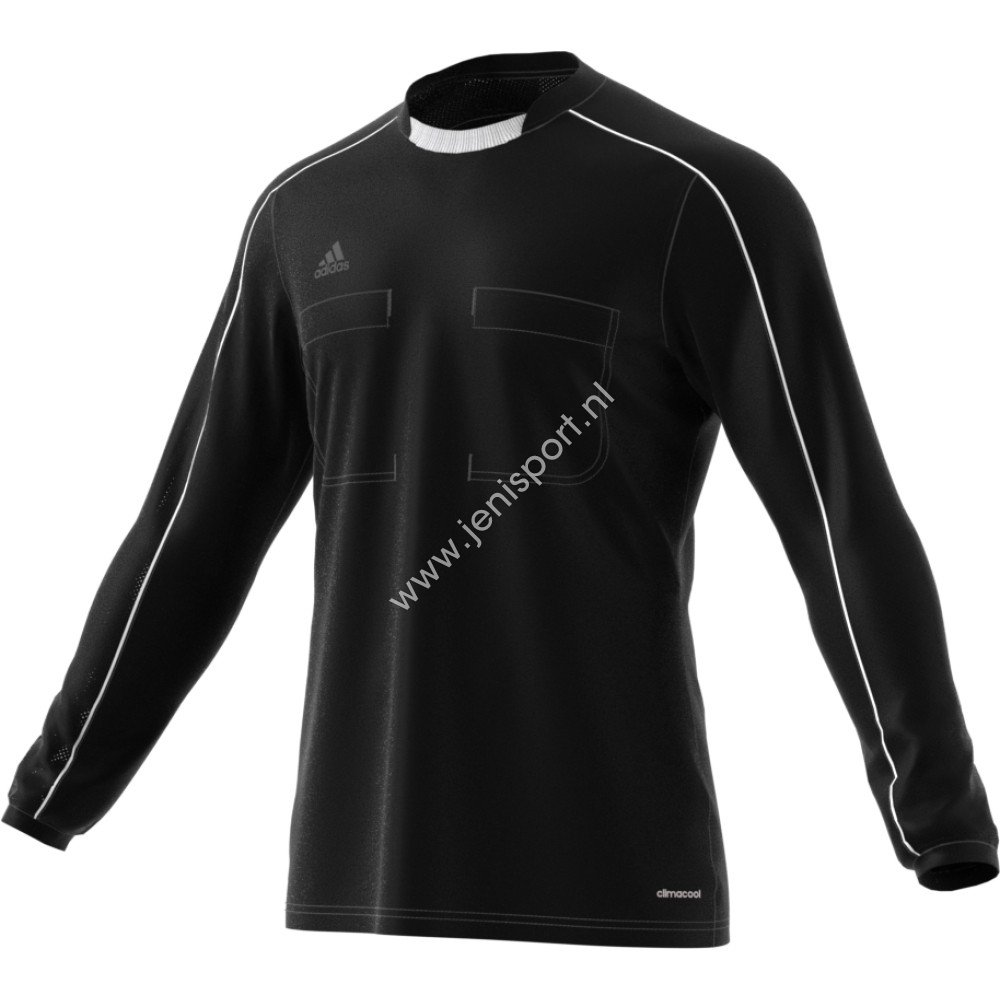 Adidas Referee 16 Scheidsrechter Shirt Lange Mouw Zwart-Wit AJ5920 ...